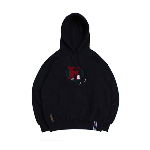 [ROMANTICCROWN] CLASSIC RC HOODIE NAVY