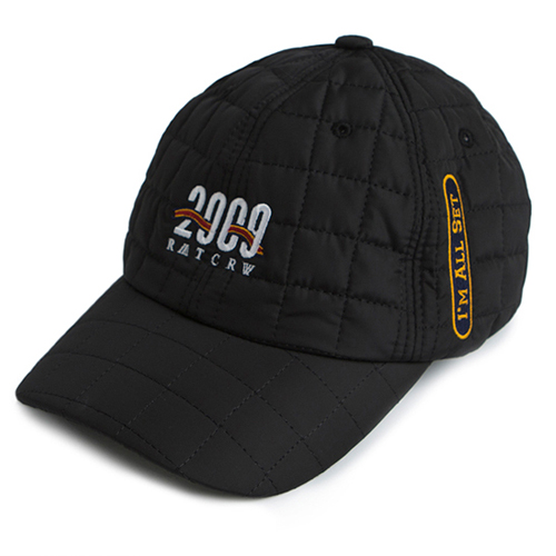 [ROMATIC CROWN] 2009 QUILTING BALL CAP BLACK