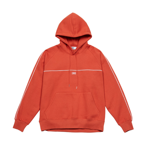 [JEUNESSE] PIPING HOODIE ORANGE