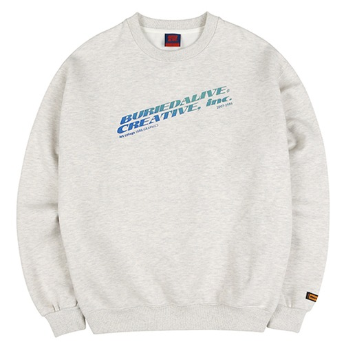 [BURIEDALIVE] BA INC SWEATSHIRTS GRAY
