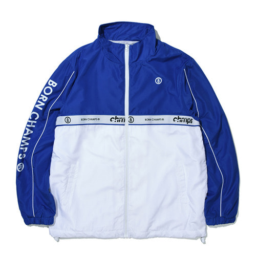 [BORNCHAMPS]BC TWO LINE JACKET BLUE CERAMJK01BL