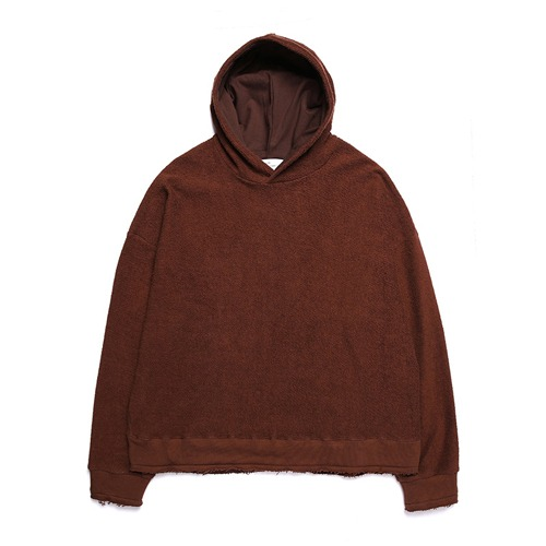 [UNIONOBJET] UNION REVERSE HOODY - BROWN