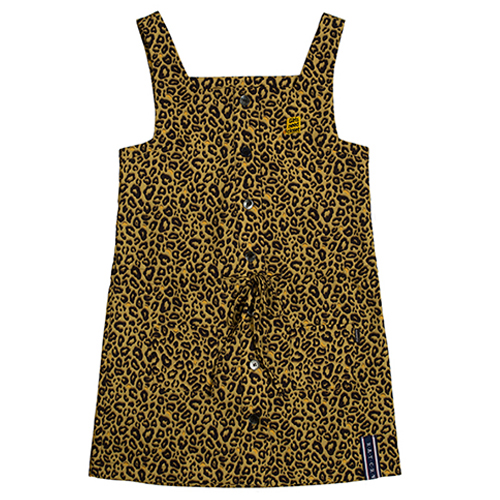 [ROMANTICCROWNWOMAN] GNAC LEOPARD DRESS BROWN