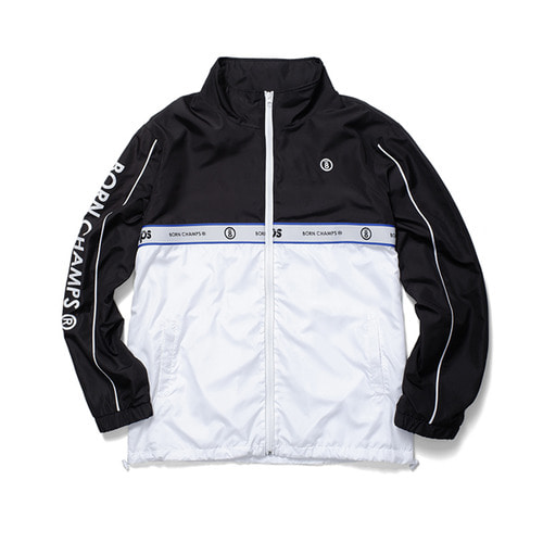 [BORNCHAMPS]BC TWO LINE JACKET BLACK CERAMJK01BK