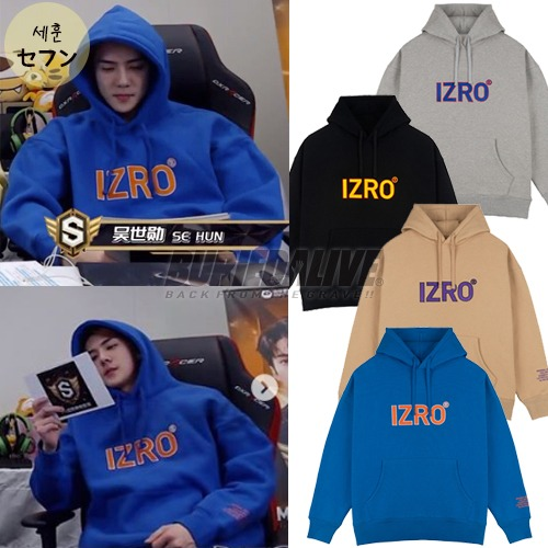 [EXO ITEM] REFLECT HOODY 4COLOR