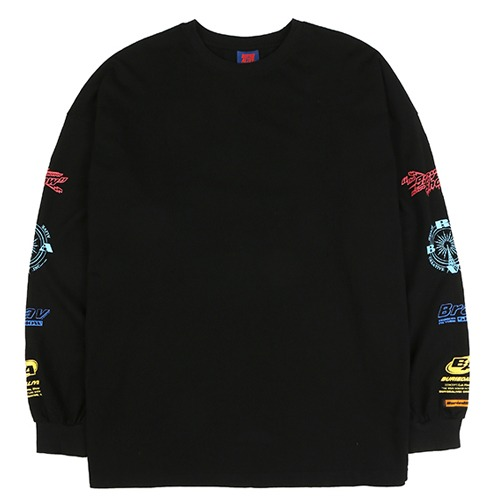 [BURIEDALIVE] BA ARM LOGO LONG SLEEVE BLACK