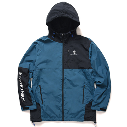 [BORNCHAMPS] BC BLOCK JACKET GREEN CERCMJK02GR