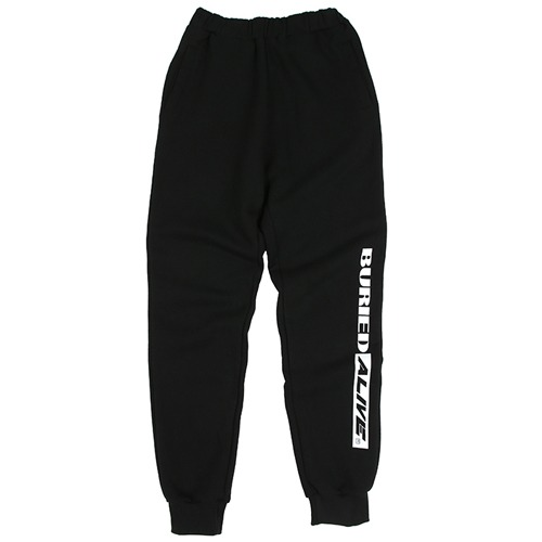 [BURIEDALIVE]BA M SWEATPANTS BLACK