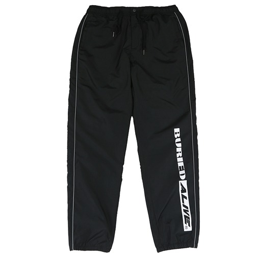 [BURIEDALIVE]BA SPLIT TRACK PANTS BLACK