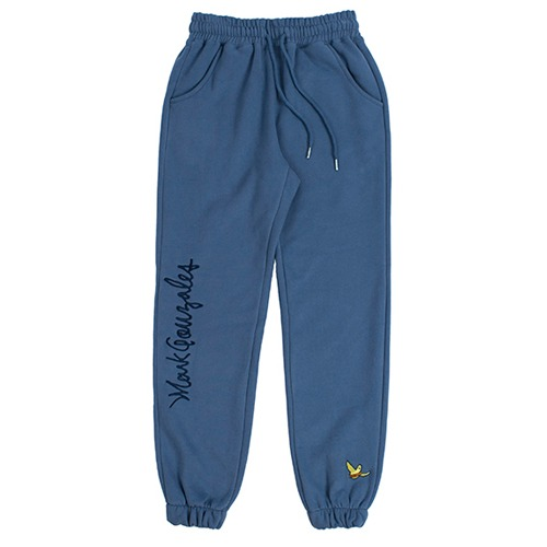 [ROMANTIC CROWN][R.C X M.G]FLAG GONZ JOGGER PANTS BLUE