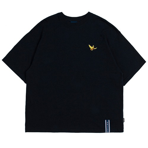 [ROMANTICCROWN][R.C X M.G]FLAG GONZ T SHIRT NAVY
