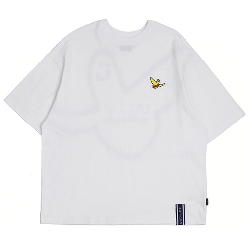 [ROMANTICCROWN][R.C X M.G]FLAG GONZ T SHIRT WHITE