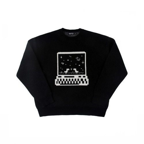[APOC] CONNECTION KNIT BLACK