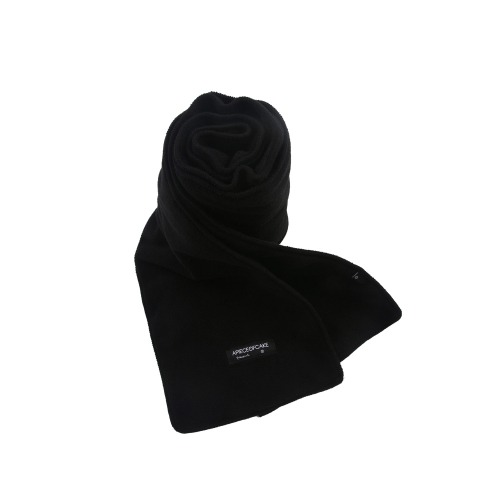 [APOC] FLEECE MUFFLER BLACK