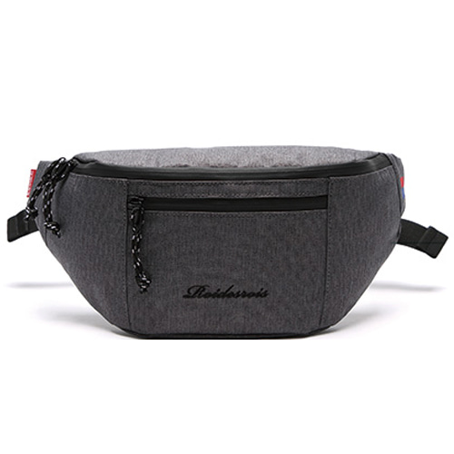 [ROIDESROIS] BOOM WAIST BAG DARK GRAY