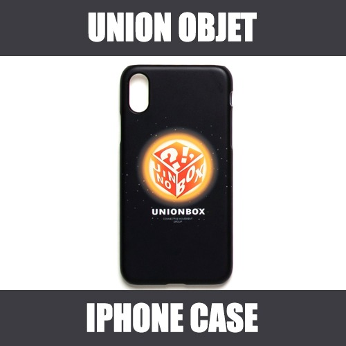 [UNIONOBJET] I-PHONE CASE UNIONBOX BLACK