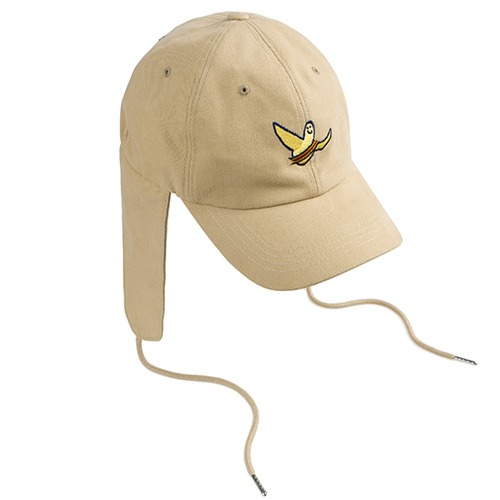 [ROMANTICCROWN][R.C X M.G]FLAG GONZ TROOPER HAT BEIGE