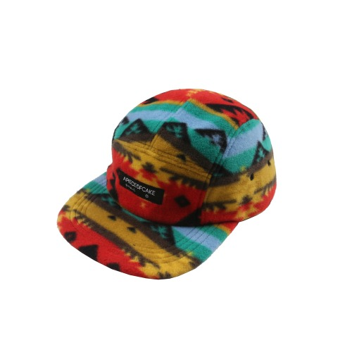 [APOC] FLEECE CAMP CAP MOUNTAIN_YELLOW