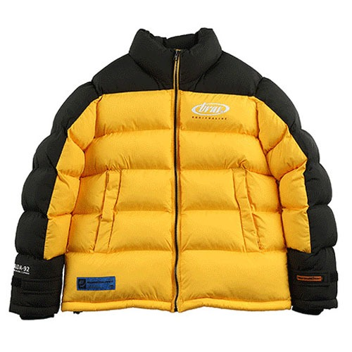 [BURIEDALIVE] BA BRIDA PADDING JACKET YELLOW/BLACK_SHINeeキー