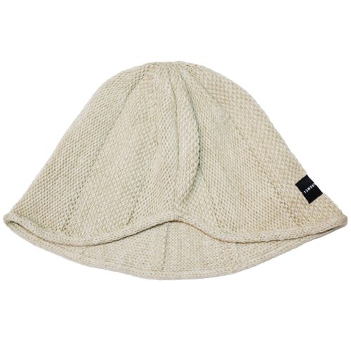 [13MONTH] KNIT WIRE BUCKET HAT BEIGE