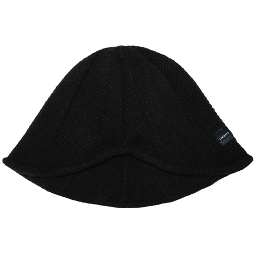 [13MONTH] KNIT WIRE BUCKET HAT BLACK