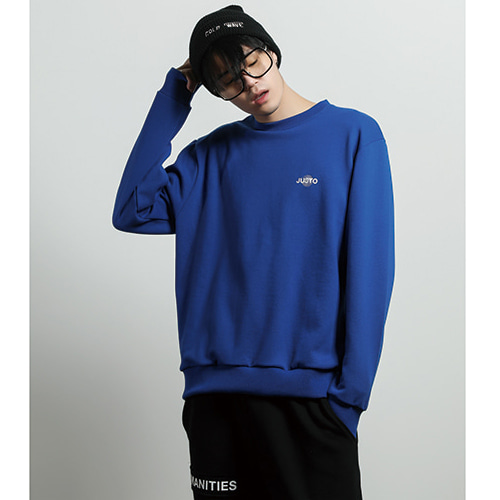 [JUSTO] ILLUSION SWEATSHIRT BLUE