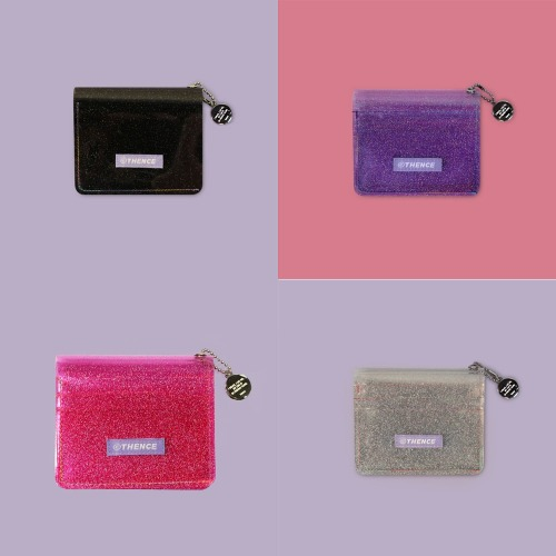 [THENCE]GLITTER WALLET 4COLOR