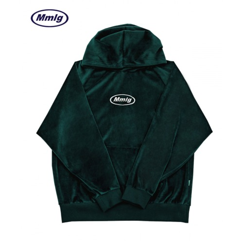 [87MM][Mmlg] VELOUR MMLG HOOD (GREEN)