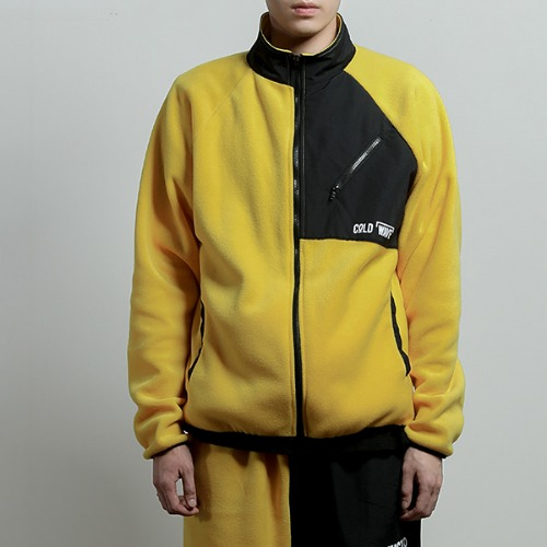 [JUSTO] JUSTO FLEECE JACKET YELLOW