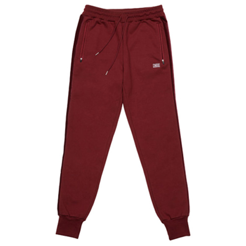 [JEUNESSE] VELOUR JOGGER PANTS WINE