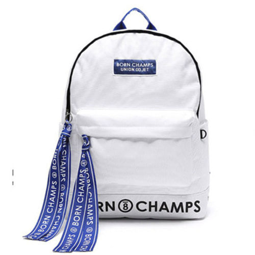 BORNCHAMPS X UNIONOBJET TAPE BAG WHITE