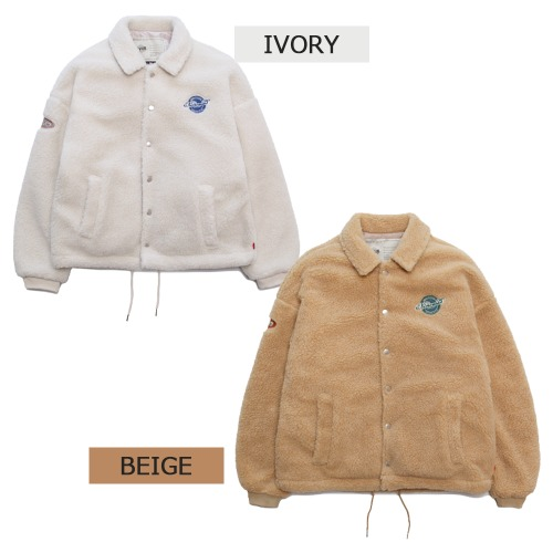1/15予約発送[WV PROJECT] Reflat woool coach jacket