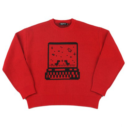 [APOC] CONNECTION KNIT RED