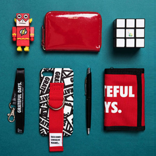 SUN X UNIONOBJET PATTERN CASE UNION RED