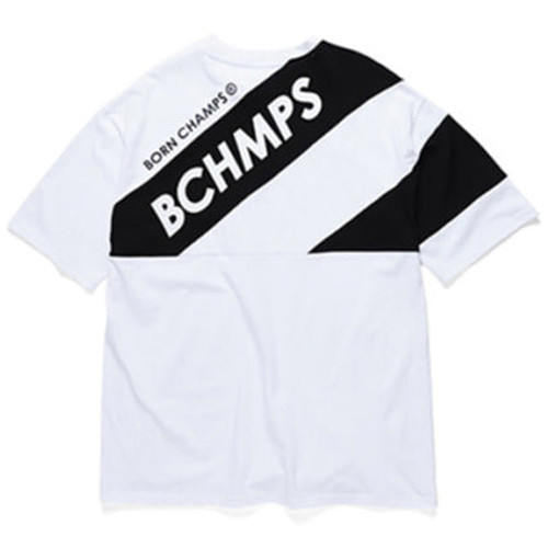 [BORN CHAMPS]8 LOGO TEE CERBMTS03WH