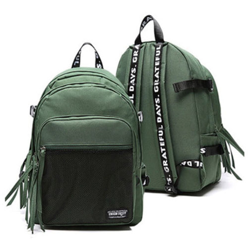 3D MESH BACK PACK GREEN