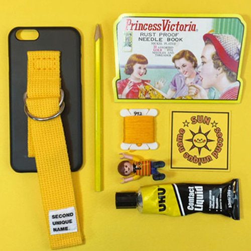 SUN CASE BLACK YELLOW(NONE)
