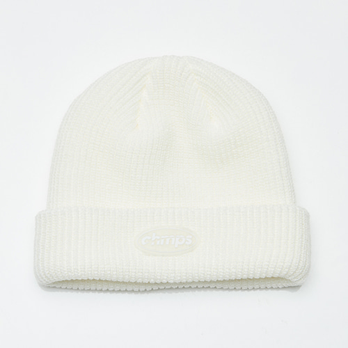 [BORNCHAMPS] CHAMPS BEANIE  CERFMCA10WH