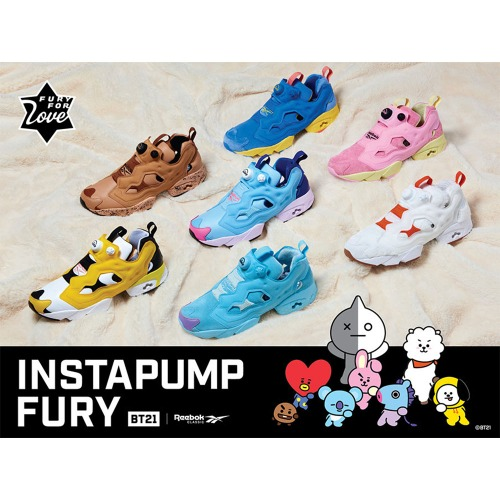 [REEBOK]INSTAPUMP FURY 7COLOR