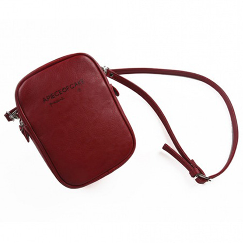 [APOC] BASIC LOGO 2WAY BAG RED