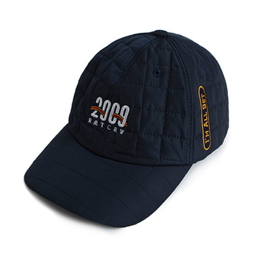 [ROMATIC CROWN] 2009 QUILTING BALL CAP NAVY