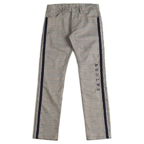 [ROMANTIC CROWN] RMTCRW Glen Check Pants_Beige