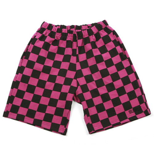 GG Trailer Checkerboard 12 Pants_Purple