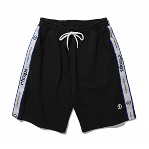 [BORN CHAMPS]TAPE SHORTS PANTS CERBMTP01BK