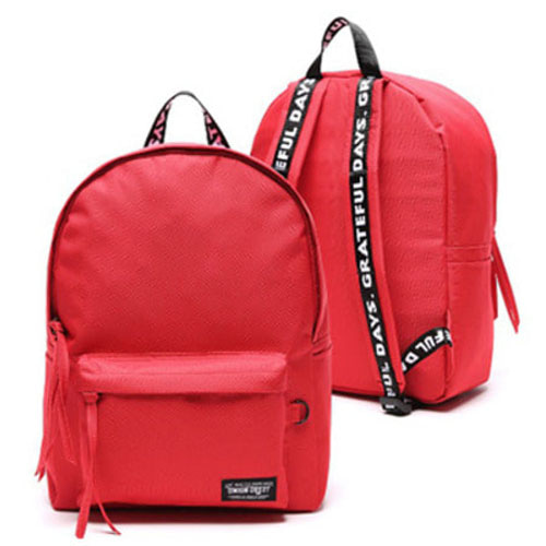 BASIC CANVASBAG RED