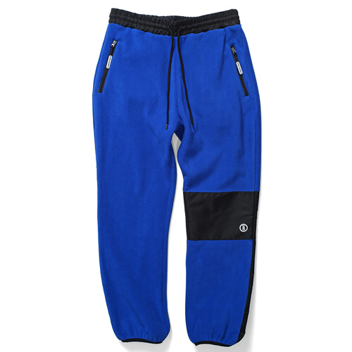 [BORNCHAMPS] CHMPS POLAR FLEECE PANT BLUE CERDMPT01BL