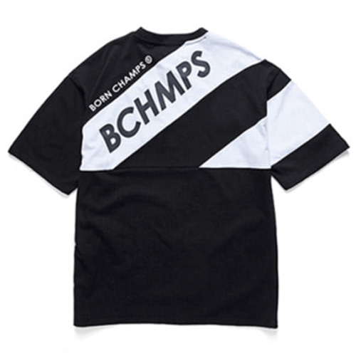 [BORN CHAMPS]8 LOGO TEE CERBMTS03BK