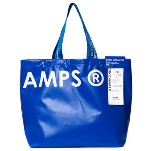 [BORN CHAMPS]BC SHOPPER BAG BLUE CERFMBG04BL