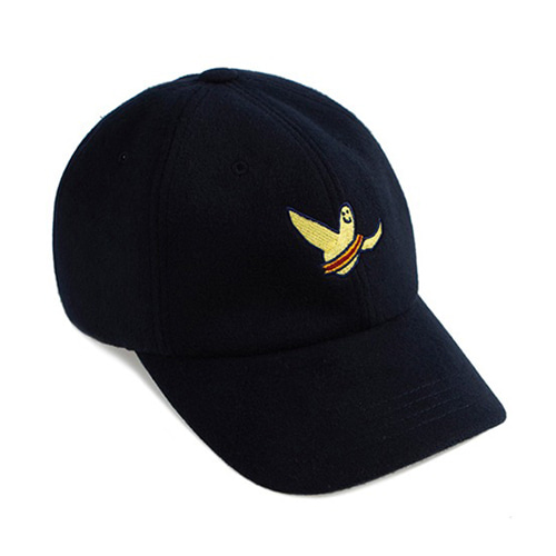[ROMANTICCROWN][R.C X M.G]FLAG GONZ BALL CAP NAVY