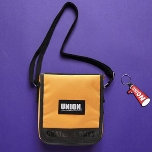 [UNIONOBJET] UNION COVER CROSS BAG YELLOW